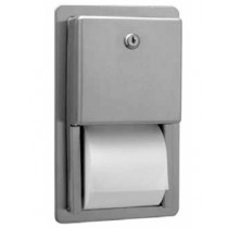 Bobrick Recessed Multi-Roll Toilet Tissue Dispenser